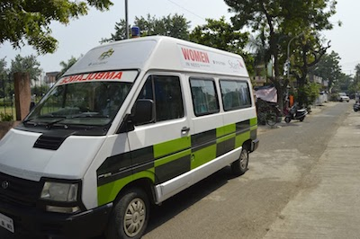 WIN ambulance provided by the GCC
